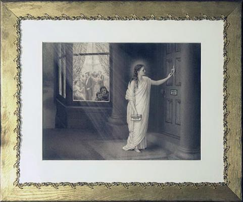 """""""Knocking:"""" An Illustration from """"Christ and Christmas"""""""