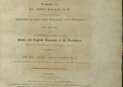 Bible 188, Title page