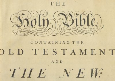 The Holy Bible, containing the Old Testament and the New: translated out of the original tongues, and with the former translations diligently compared and revised, by His Majesty's special command.