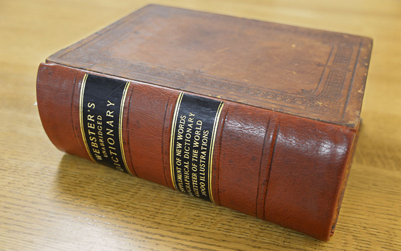 What dictionaries did Mary Baker Eddy own?
